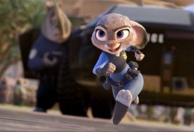 Disney's ZOOTOPIA movie Hopps running still