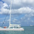 Fury Catamarans, snorkel and catamaran beach excursion is Cozumel, Mexico