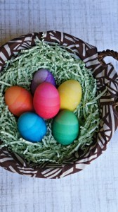 DIY Ombre Easter eggs