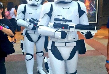 Disney's Hollywood Studios, Star Wars Storm troopers patroling the streets