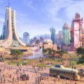The city of Zootopia