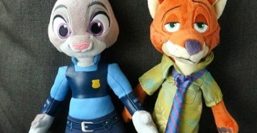 Zootopia Nick Wilde and Judy Hopps plush stuffed animals