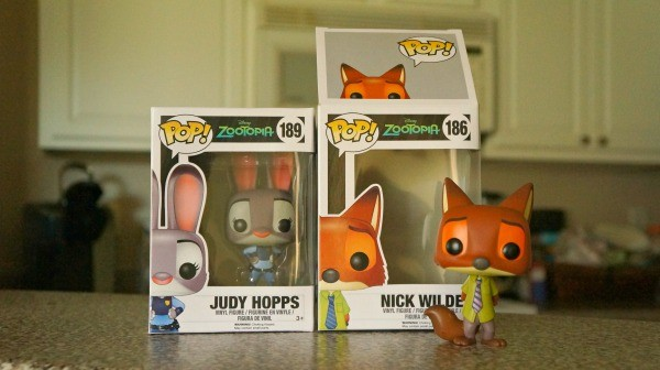 Zootopia POP Figurines Judy Hopps Nick Wilde
