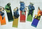 Disney's Zootopia bookmarks