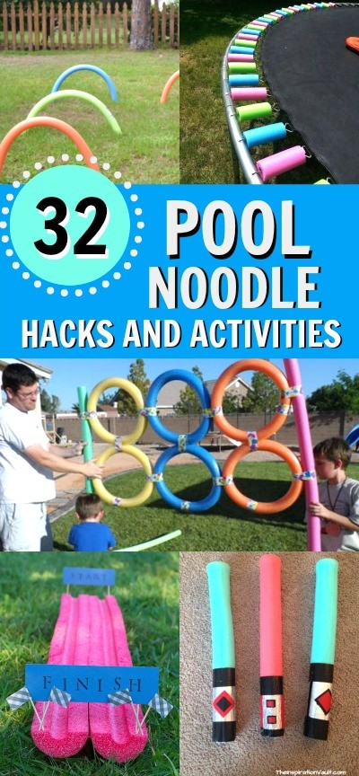 32 Of The Best Pool Noodle Hacks Crafts And Games To Try