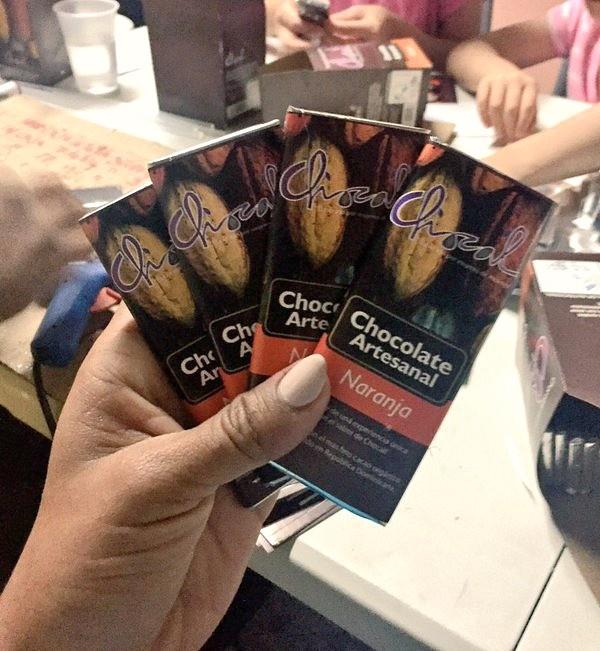 Fathom travel, Chocal chocolate bars