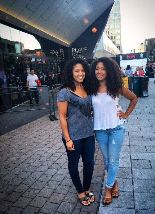 Montreal, Quebec - Ladies at the 2016 International Jazz Festival, Canada