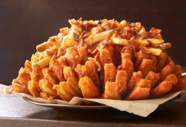 Outback Steakhouse Big Australia menu - Loaded Bloomin' Onion