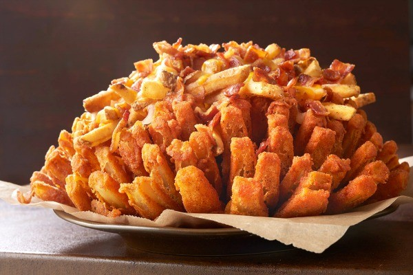 Big Australia Menu at Outback Steakhouse - Loaded Bloomin' Onion