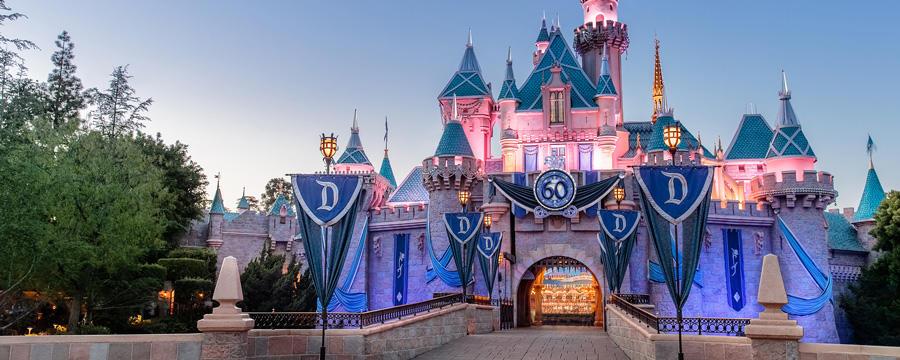 Summer at Disneyland Resort - 60 years diamond anniversary celebration, image courtesy of Disney