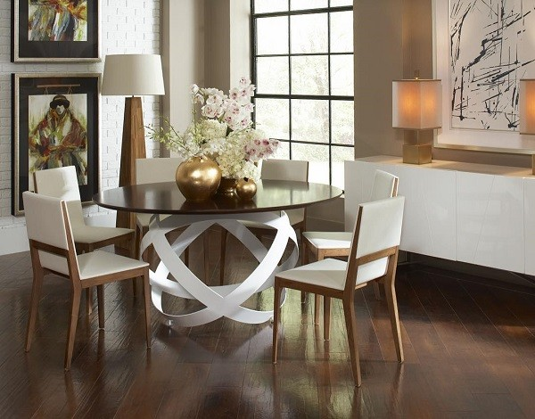 CORT furniture rental Costa dining table set