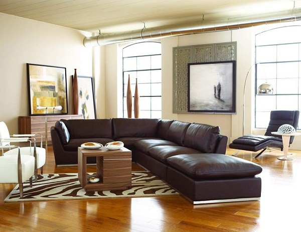 Cort Furniture Rental Living Room Decor Sectional Sofa Couch Honey