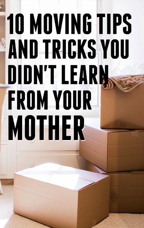 10 moving tips and tricks that you didn 39 t learn from your for Home building tips and tricks