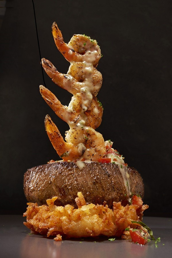 The best foods at outback steakhouse shrimp sirloin steak tower