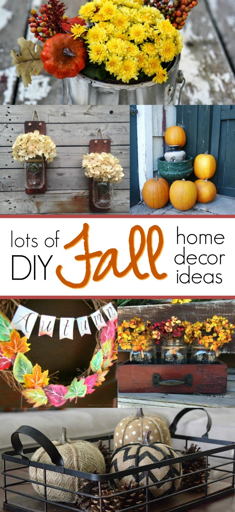 You will love these diy fall home decor ideas so easy and for Find home decor