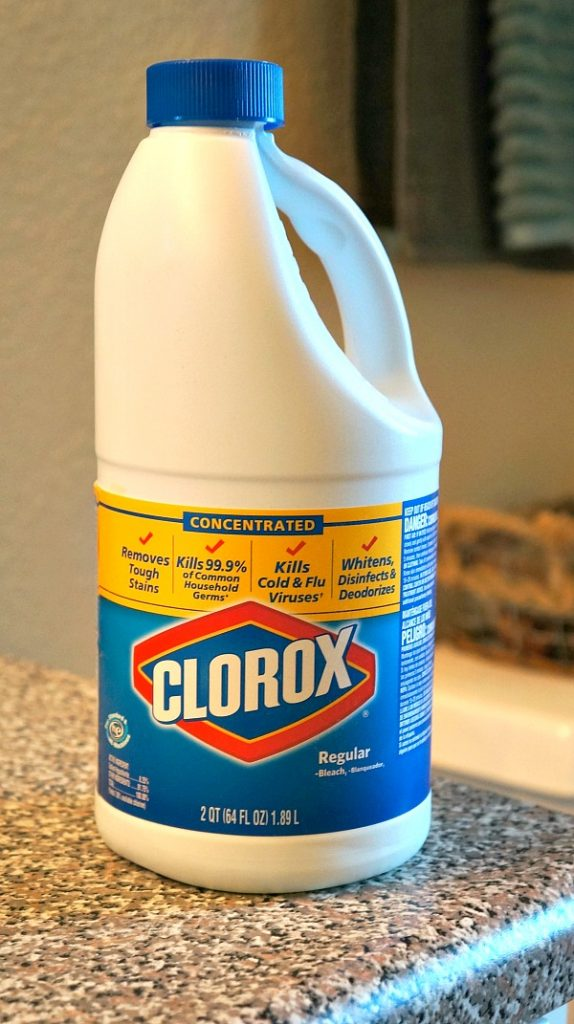 A new year house cleaning resolution - You should be cleaning your home with Clorox® Regular-Bleach!