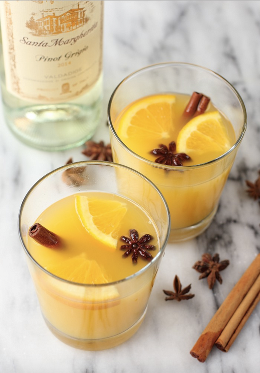 Cinnamon orange blossom cocktail recipe, this one has all of the flavors of fall!