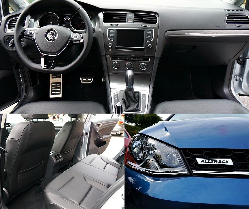 The new 2017 Volkswagen Golf AllTrack interior photos