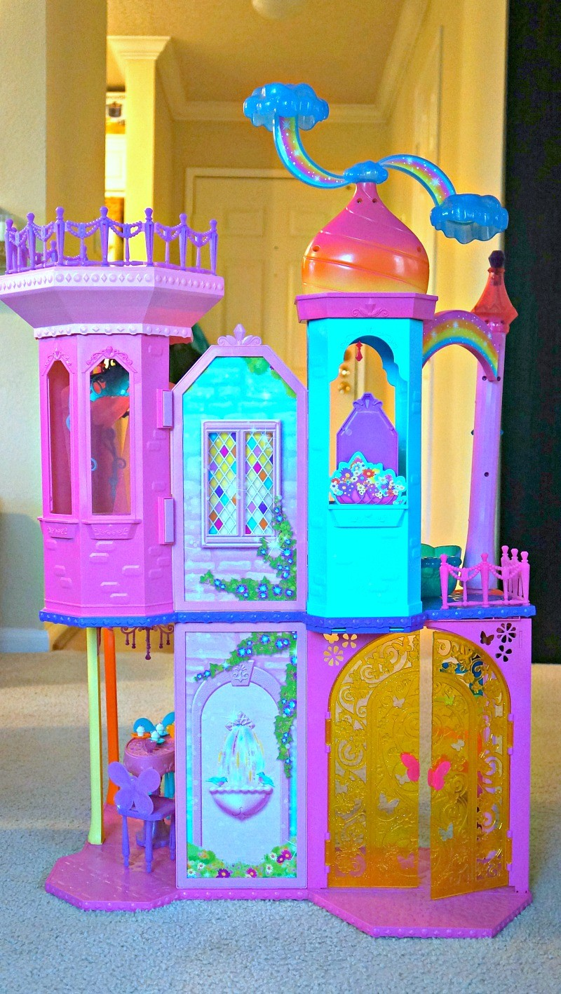 The Barbie® Rainbow Cove™ Princess Castle Playset, Honey and Lime