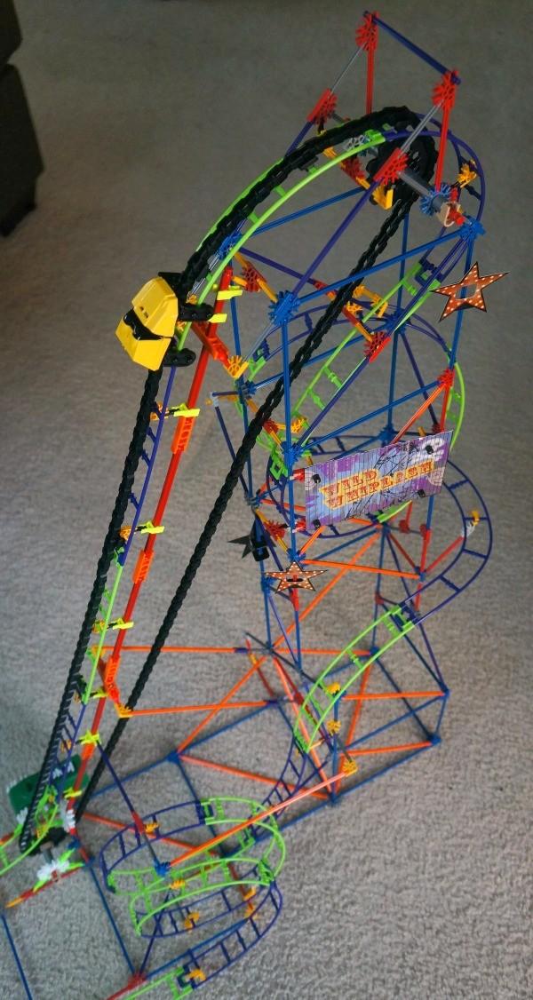 K'NEX Wild Whiplash Roller Coaster review