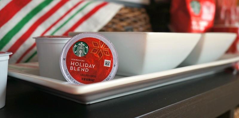Starbucks Holiday Blend K-cup pods for Keurig