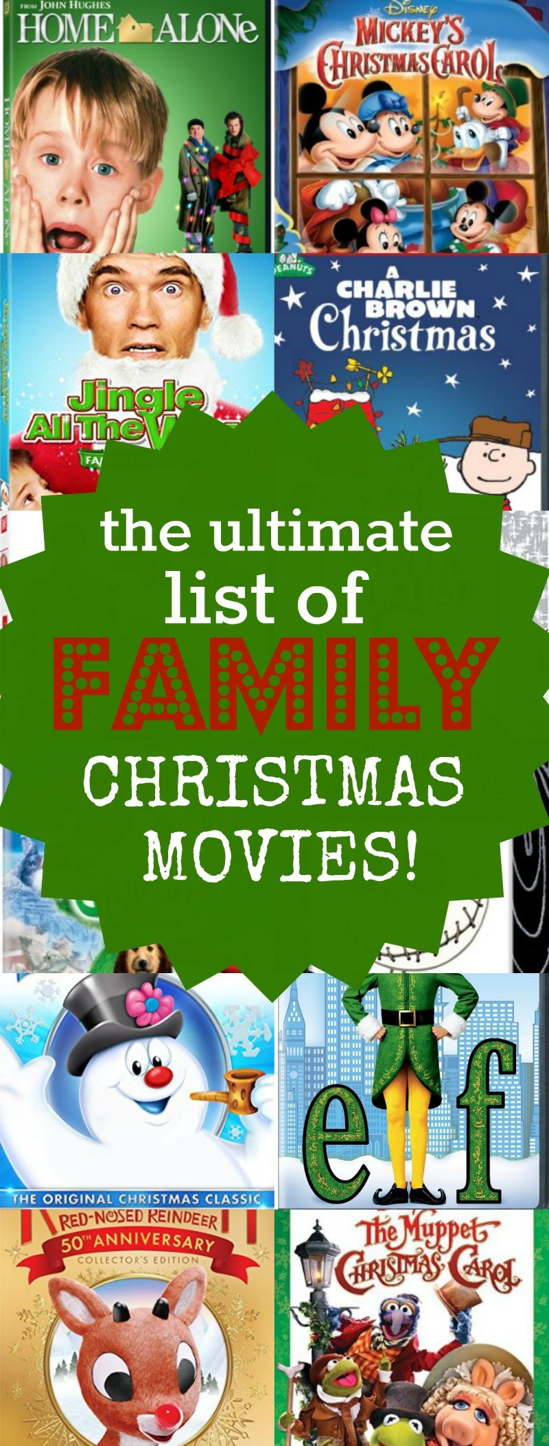 the top 22 ultimate list of family christmas movies to watch together
