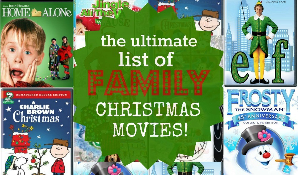 The Top 22 Ultimate List Of Family Christmas Movies To