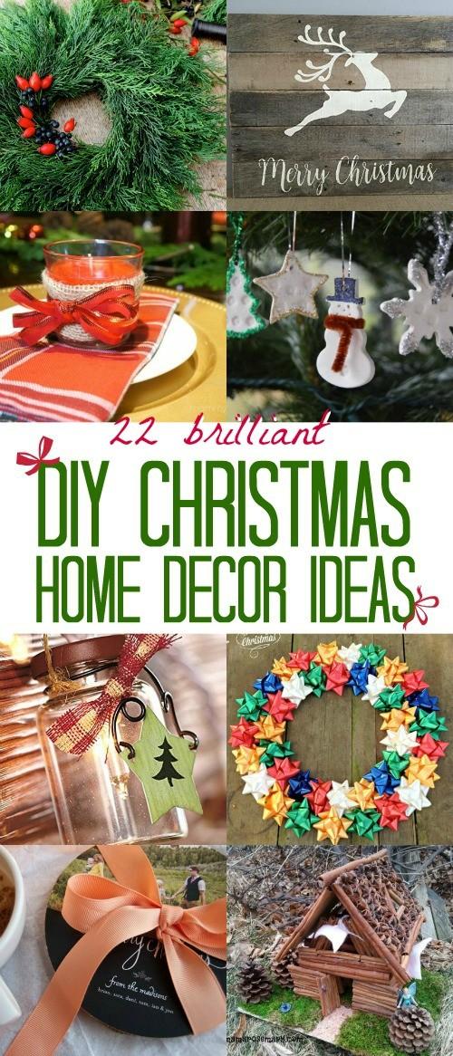 We Love These 22 Brilliant Diy Christmas Home Decor Ideas
