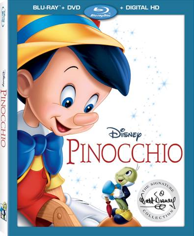 Disney's Pinocchio DVD Blu-ray, available January 31, 2017