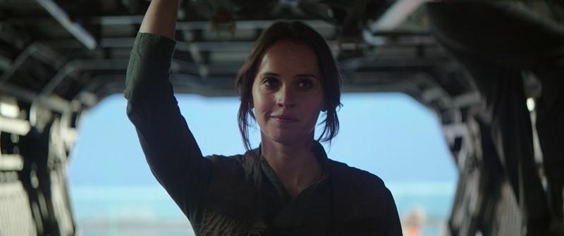 Felicity Jones is Jyn Erso in Rogue One: A Star Wars Story