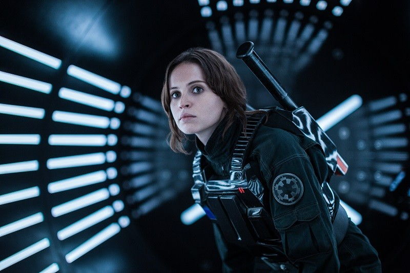Felicity Jones plays Jyn Erso in Rogue One A Star Wars Story movie