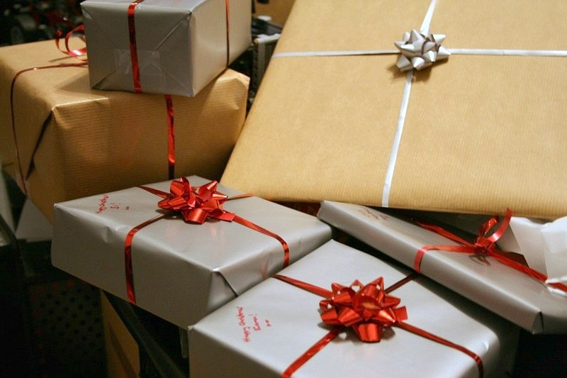 Holiday gifts and Christmas presents
