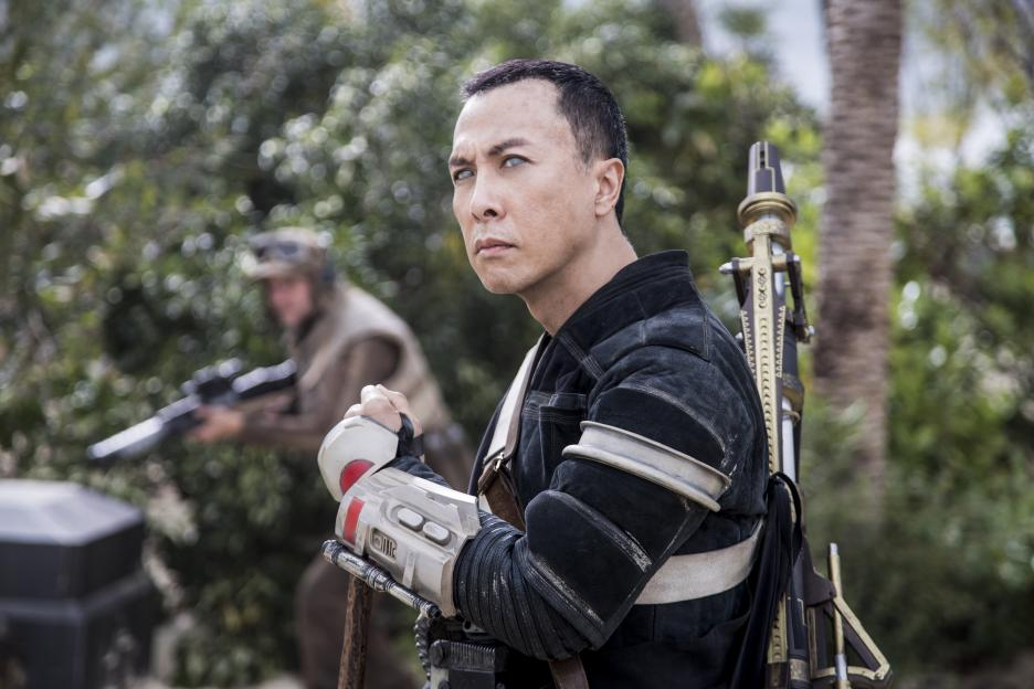 Rogue One movie Donnie Yen's Star Wars character Chirrut Imwe