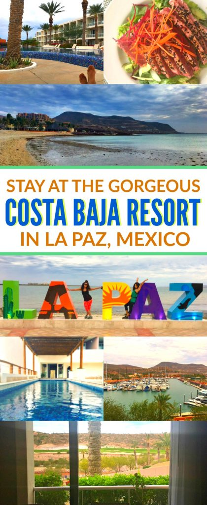 5 Reasons To Stay At The Costa Baja Resort In La Paz Mexico. This property is absolutely gorgeous, the perfect beach vacation in Baja California for you and your family with all of the amenities!
