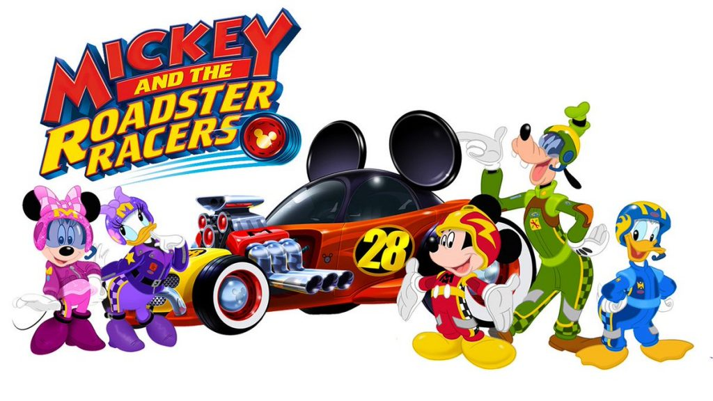Disney's Mickey and the Roadster Racers show, premieres January 15, 2017
