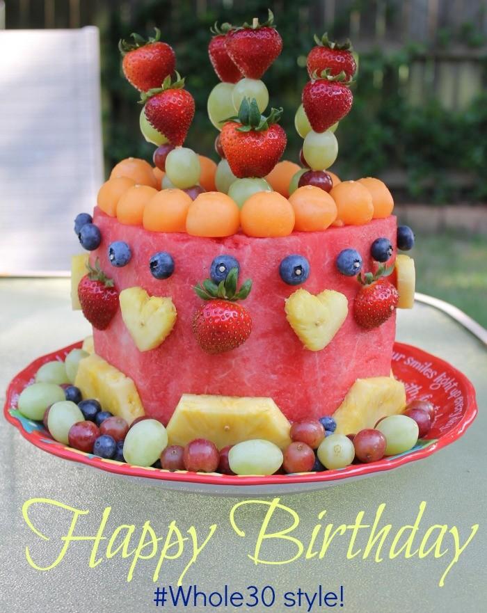 Easy To Make Whole30 Recipes Whole 30 Birthday Cake Moscato Mom