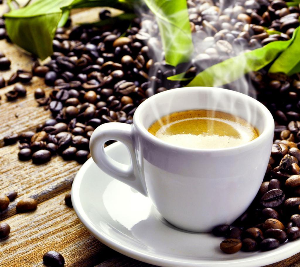 fresh-hot-cup-of-coffee-with-coffee-beans