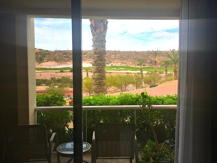 stay at the Costa Baja Resort in La Paz mexico, golf course view room