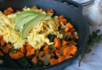 Paleo sweet potato and egg breakfast hash recipe