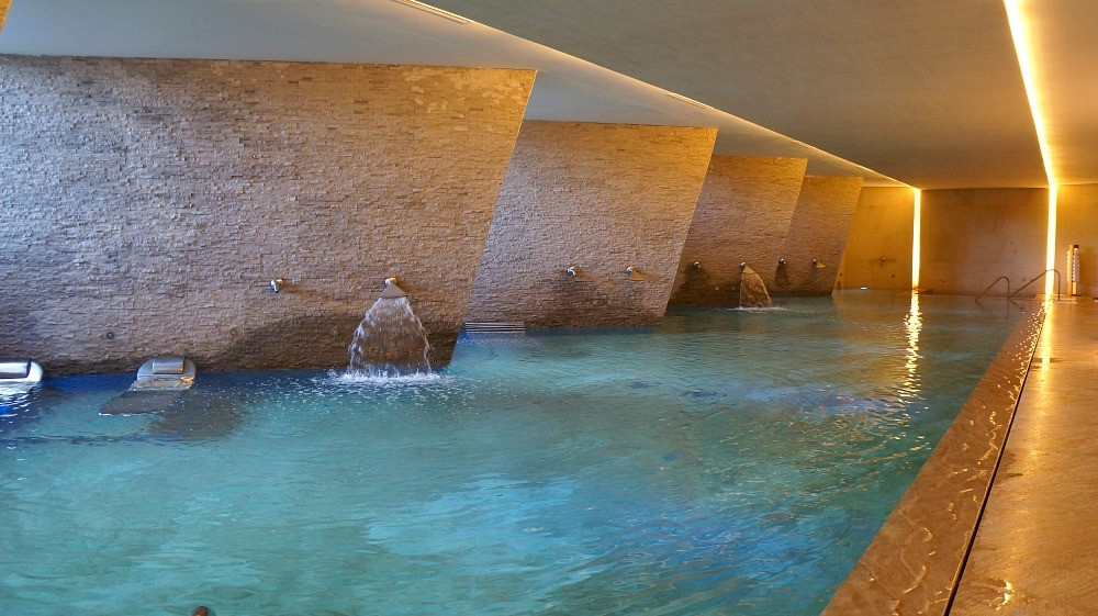 The Spa at Grand Velas Los Cabos, the multisensory pool for the Water Journey experience