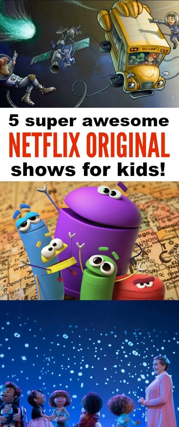 5 Awesome Netflix Shows for Kids To Help Inspire Their Creativity - these shows are so much fun!