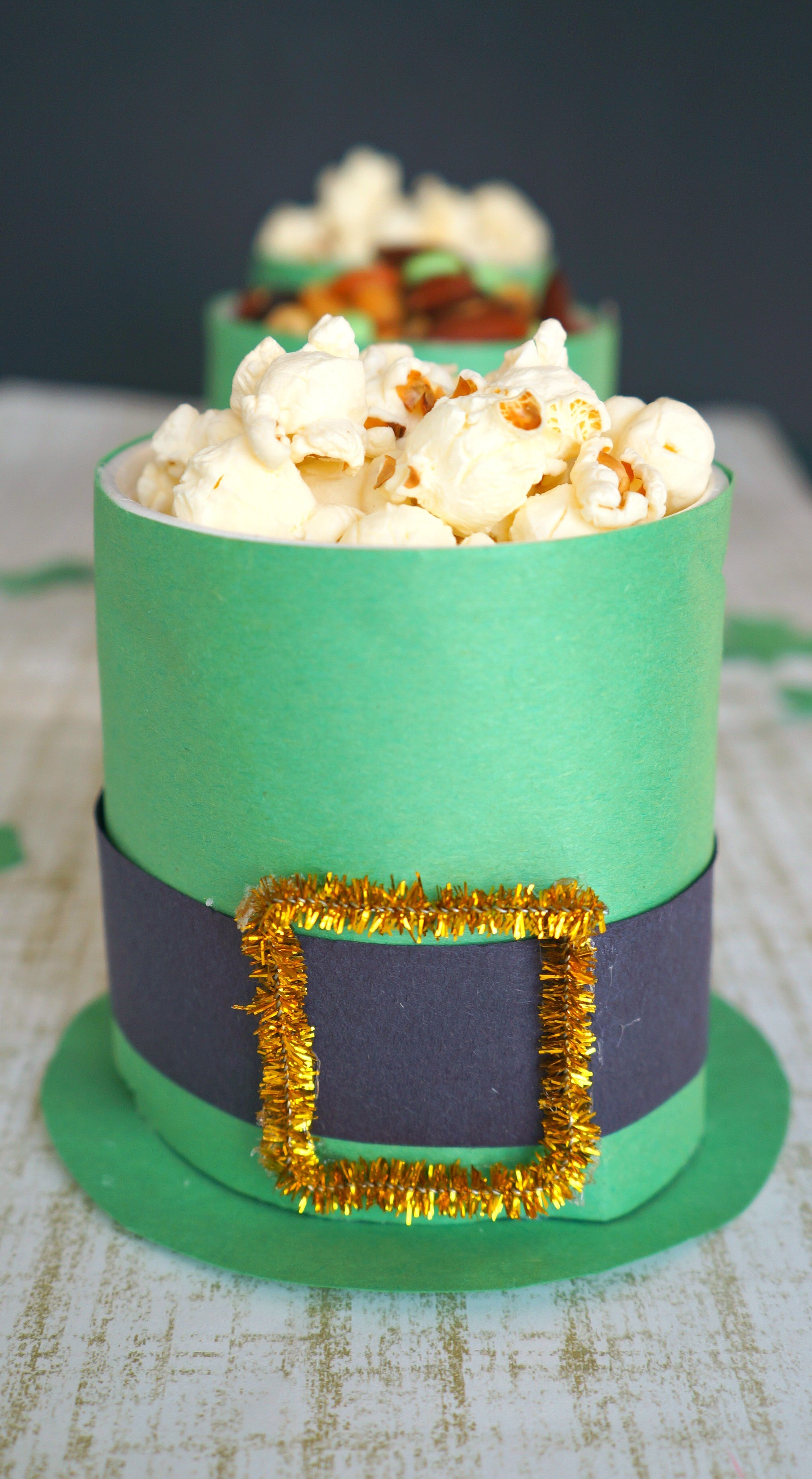 DIY Leprechaun Hat Treat Cups Craft