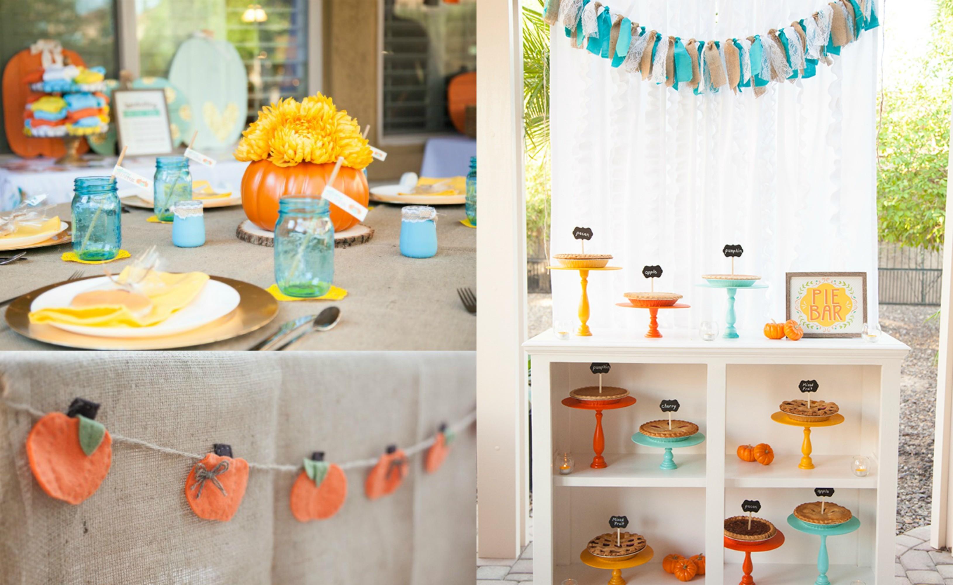 Little pumpkin baby shower theme see vanessa craft honey lime - Unique baby shower theme ideas ...