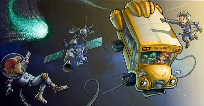 Netflix Original show, Magic School Bus 360
