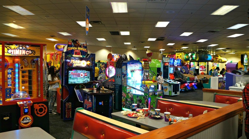 Food And Arcade Places