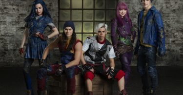 "DESCENDANTS 2 - Disney Channel's original movie ""Descendants 2"" stars Thomas Doherty stars as Harry, China Anne McClain as Uma and Dylan Playfair as Gil. (Disney Channel/Bob D'Amico)"