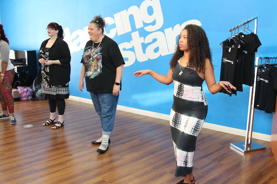 Dancing With The Stars dance lesson in Los Angeles, CA