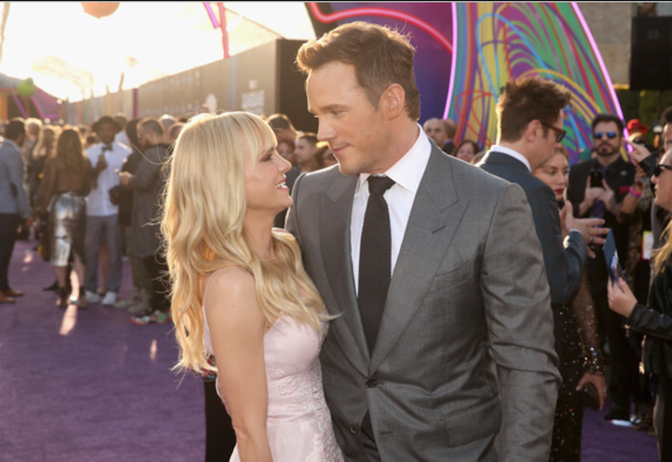 Marvel's Guardians of the Galaxy World premiere in Los Angeles, CA, Anna Ferris, Chris Pratt
