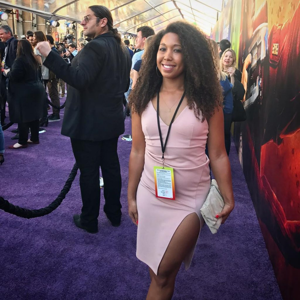 Marvel's Guardians of the Galaxy premiere in Los Angeles, CA, Deanna Underwood