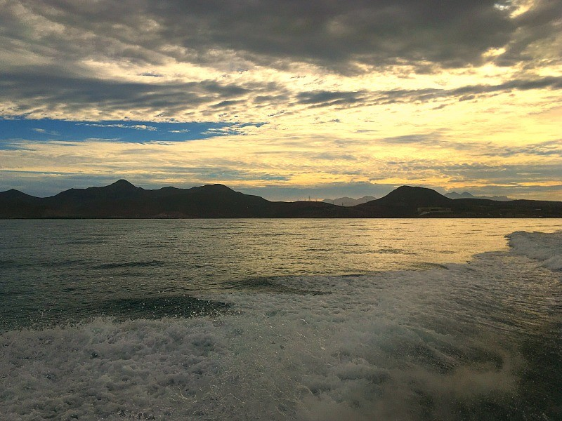 Snorkeling in La Paz, Mexico, boat ride through the Sea of Cortez